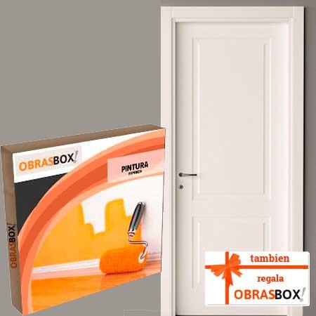 Si necesitas pintar las puertas de tu casa cuenta con ObrasBox